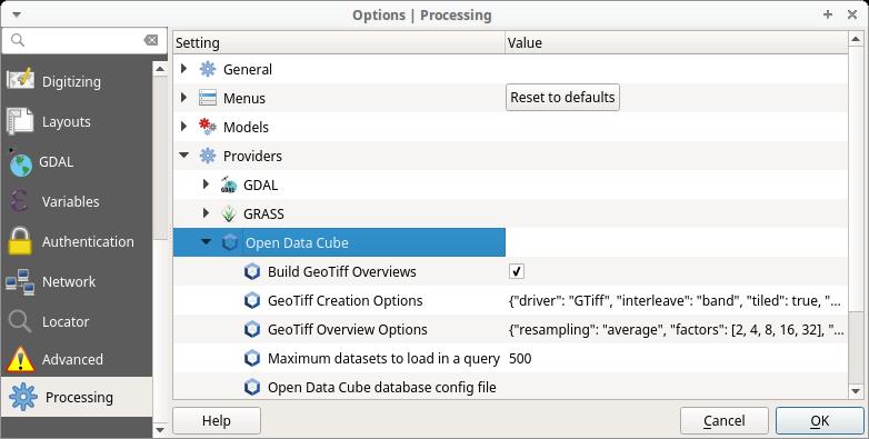 Settings — Python documentation